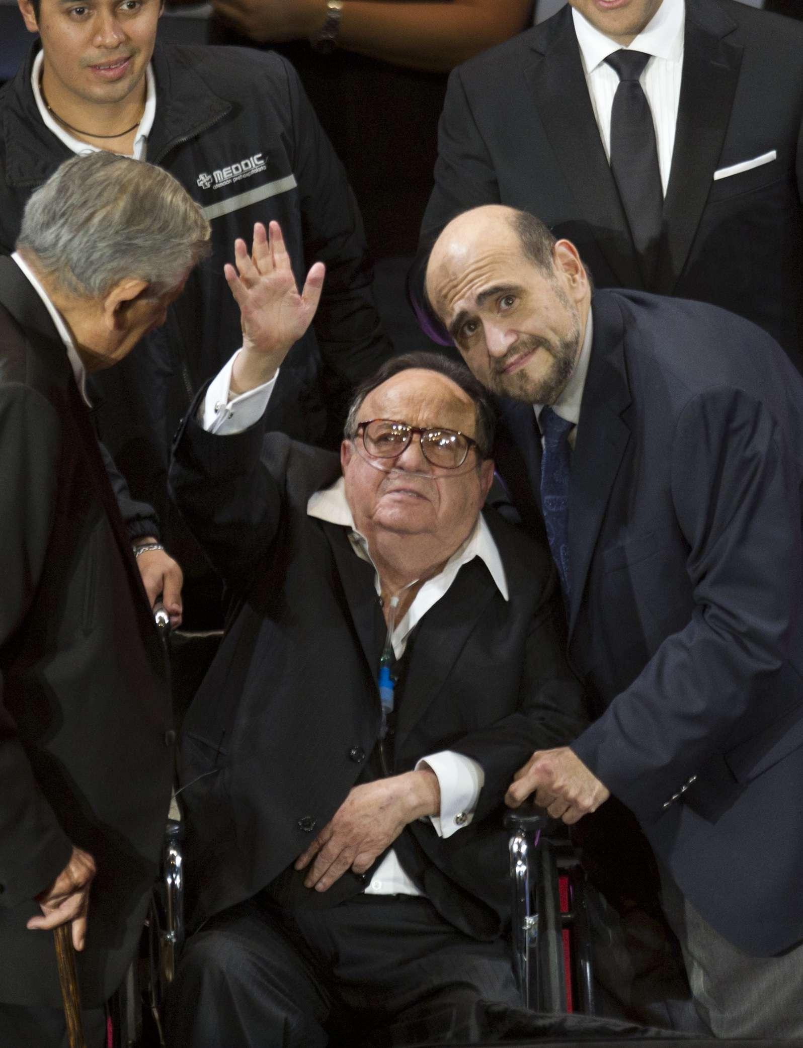 """Roberto Gómez Bolaños, """"Chespirito"""" murió en Cancún a los 85 años de edad. Foto: AP"""