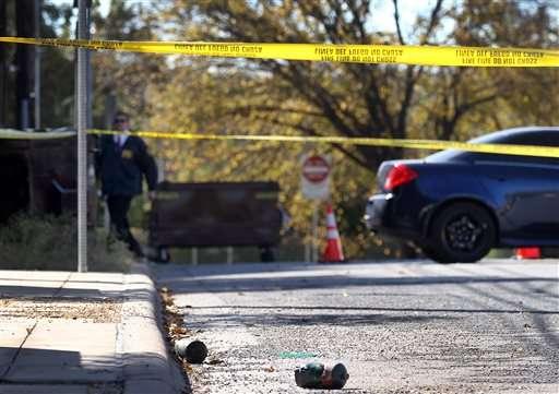 Debido a que los empleados se encontraban de descanso, debido a las festividades de Día de Gracias, no se reportaron heridos. Foto: AP en español