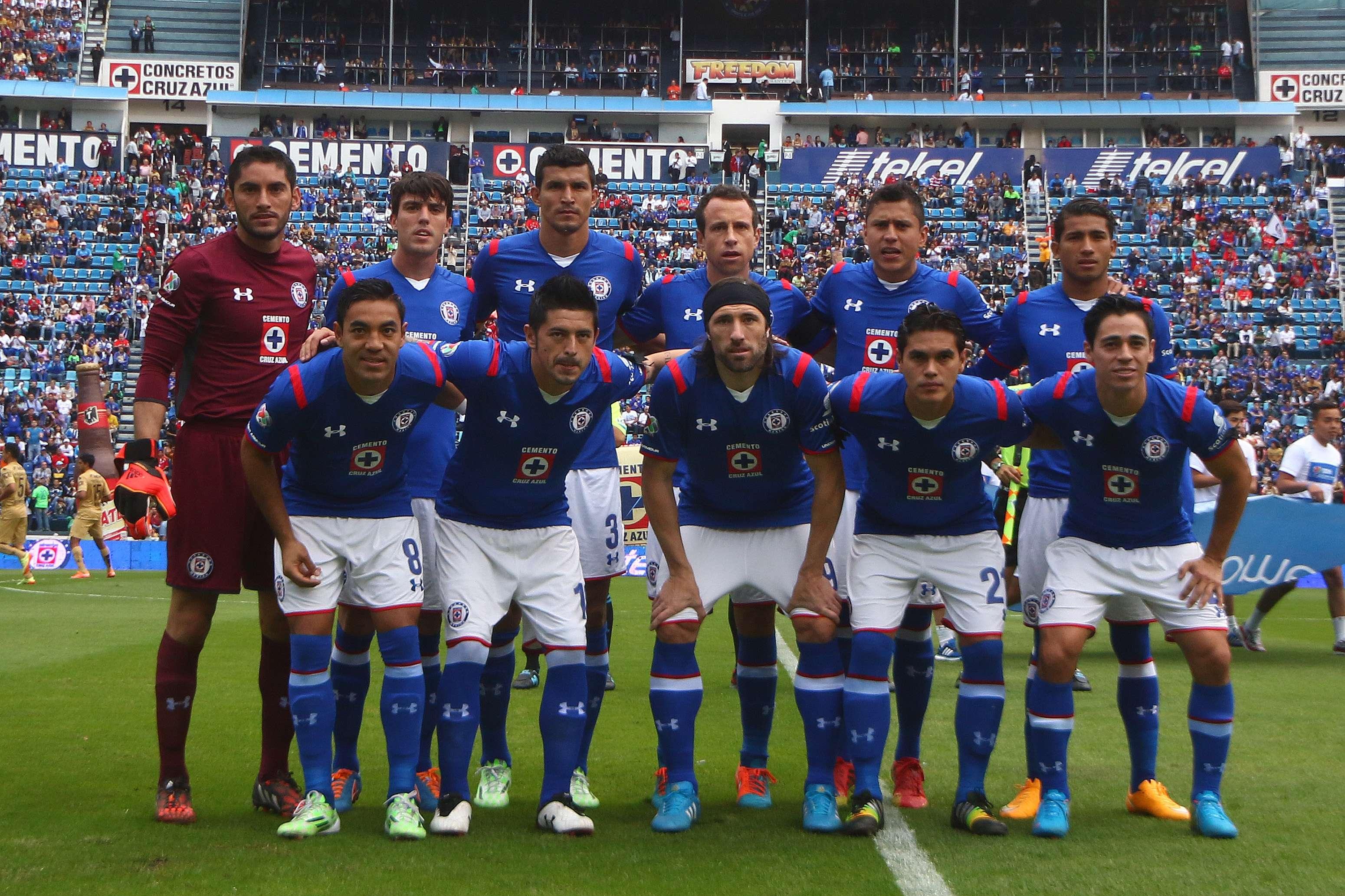La única baja sensible del Cruz Azul es Luis Amaranto Perea (lesioando). Foto: imago7