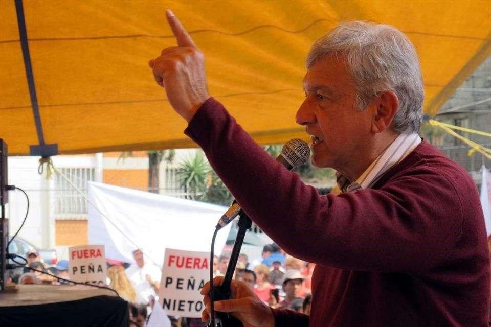 López Obrador planteó desde su cuenta de Facebook una reforma constitucional. Foto: Reforma