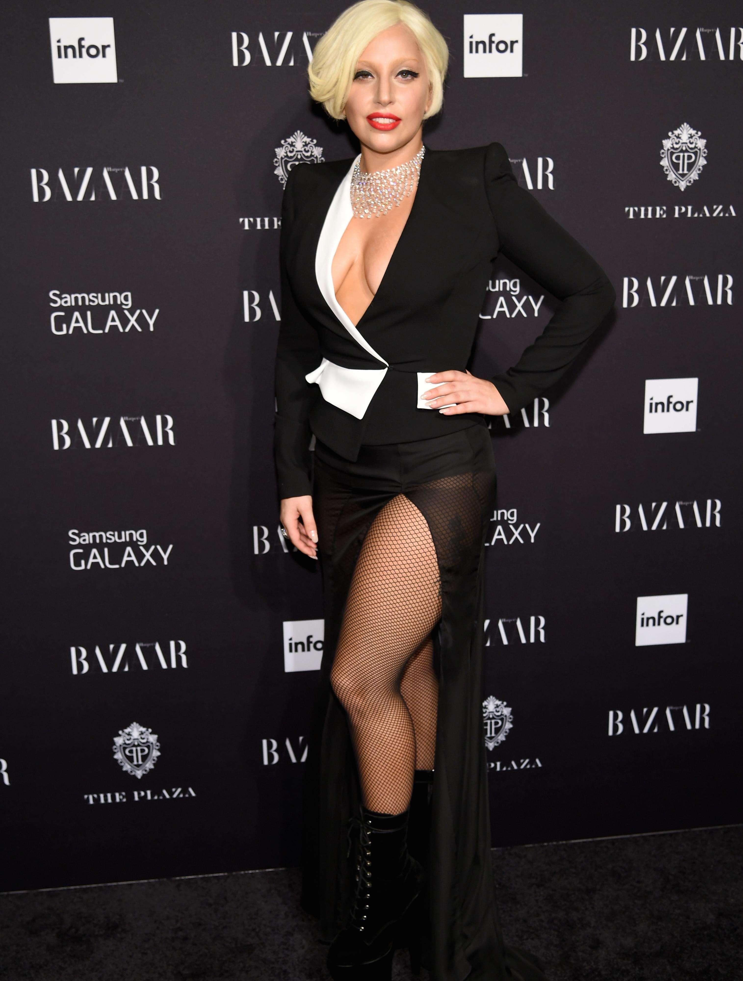 Lady Gaga acudió a terapia para superar el haber sido víctima de violación. Foto: Getty Images