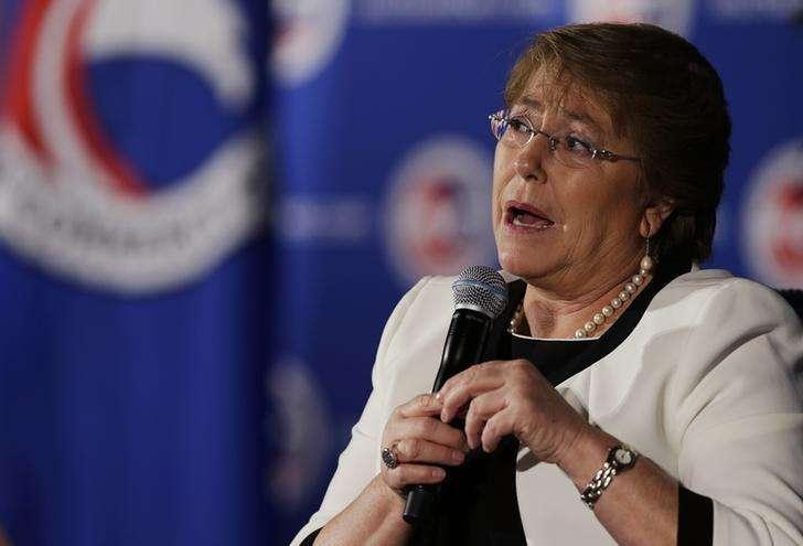 A presidente do Chile, Michelle Bachelet, durante evento em Washington, nos Estados Unidos, em julho. 01/07/2014 Foto: Gary Cameron/Reuters