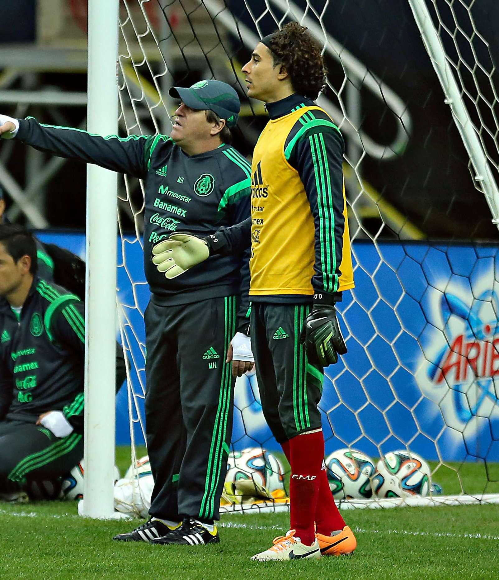 Guillermo Ochoa mantiene la confianza de Miguel Herrera, pese a tener poca actividad en la Selección. Foto: Imago7