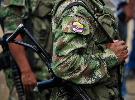 Miembro de las Farc Foto: AFP en español