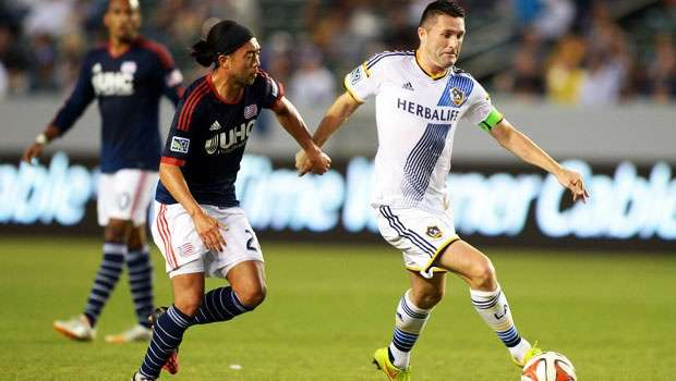 LA Galaxy vs. New England Revolution Foto: US Today Sprts