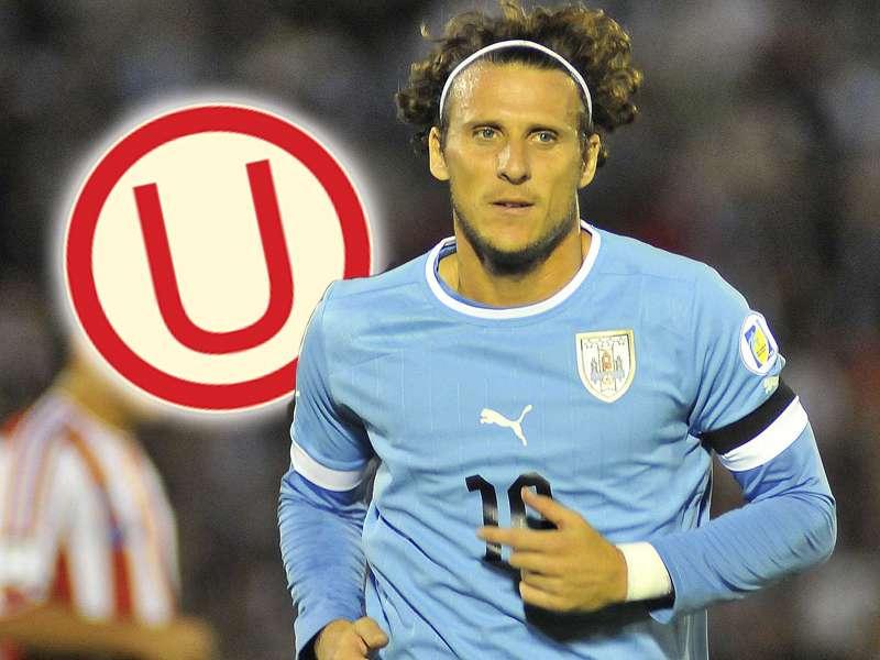 Diego Forlán fue 2 veces 'pichichi' de la liga española y Bota de Oro de la UEFA. Foto: Getty Images