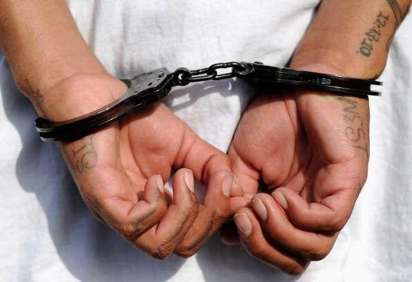 Juan Francisco Martínez Ramírez trató de escapar al momento de su detención pero logró ser aprehendido momentos después. Foto: Getty Images