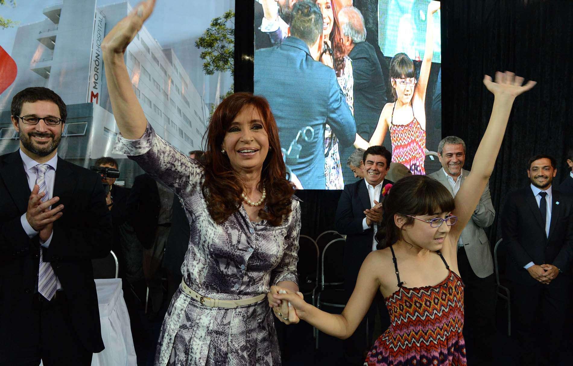 Cristina Kirchner protagonizó un cruce con el titular de la Auditoría General de la Nación, Leandro Despouy. Foto: NA