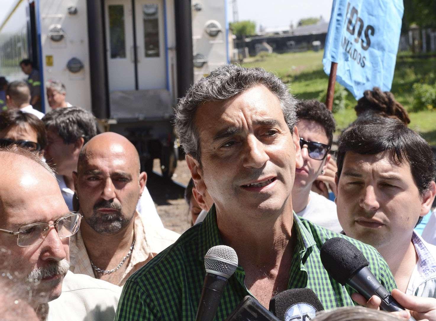 Florencio Randazzo, ministro de Transporte. Foto: NA