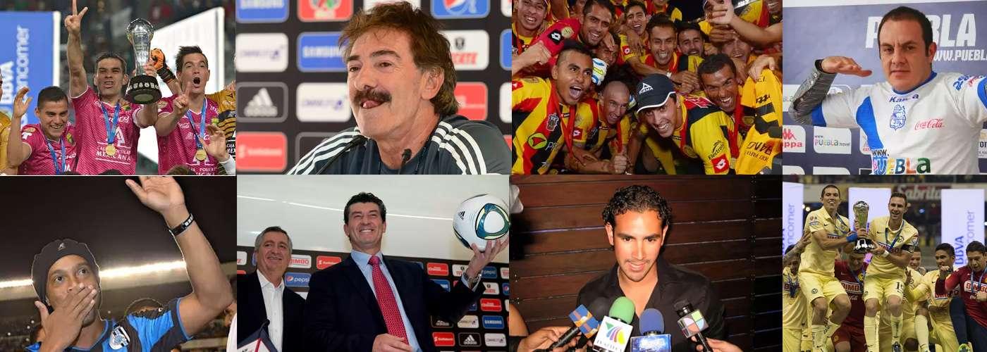 El 2014 un año de triunfos y escándalos en el Futbol Mexicano, en donde llegó una leyenda del futbol mundial. Foto: Mexsport