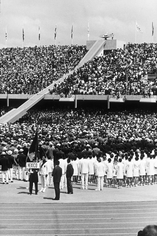 Inauguración de los Juegos Olímpicos de 1968 Foto: Gettyimages