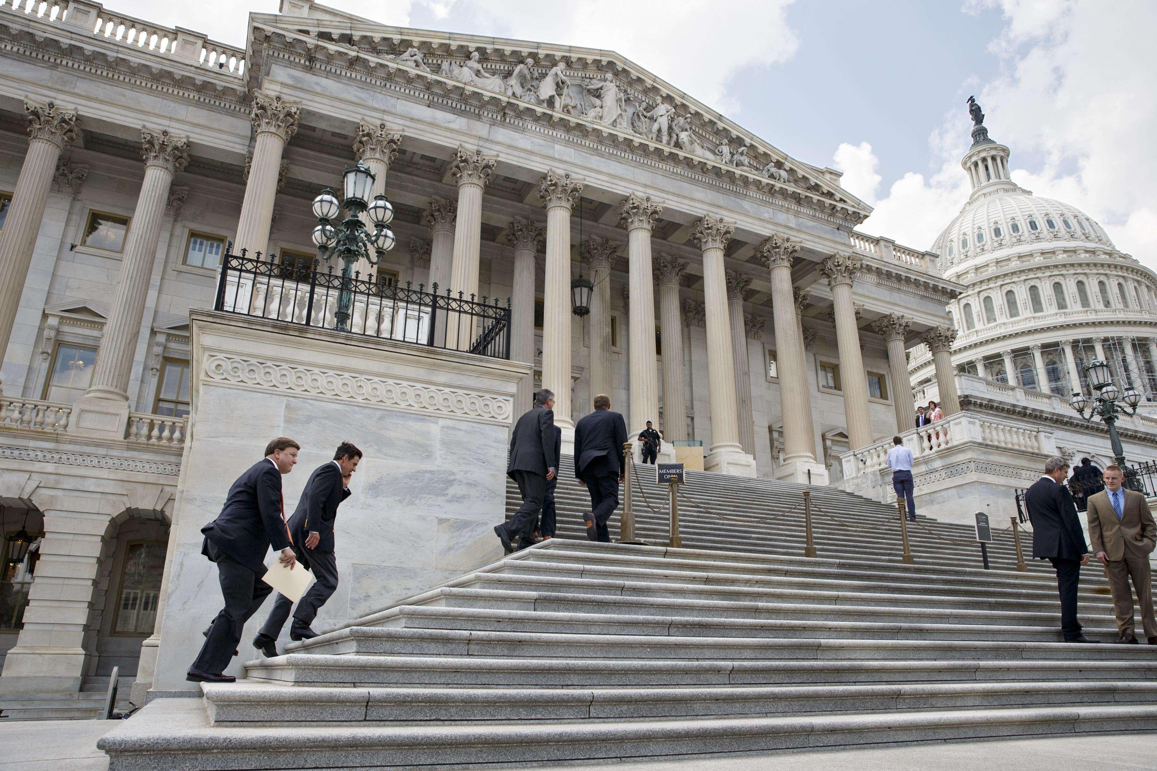 El Congreso estadounidense estará bajo control republicano en los próximos dos años. Foto: AP en español