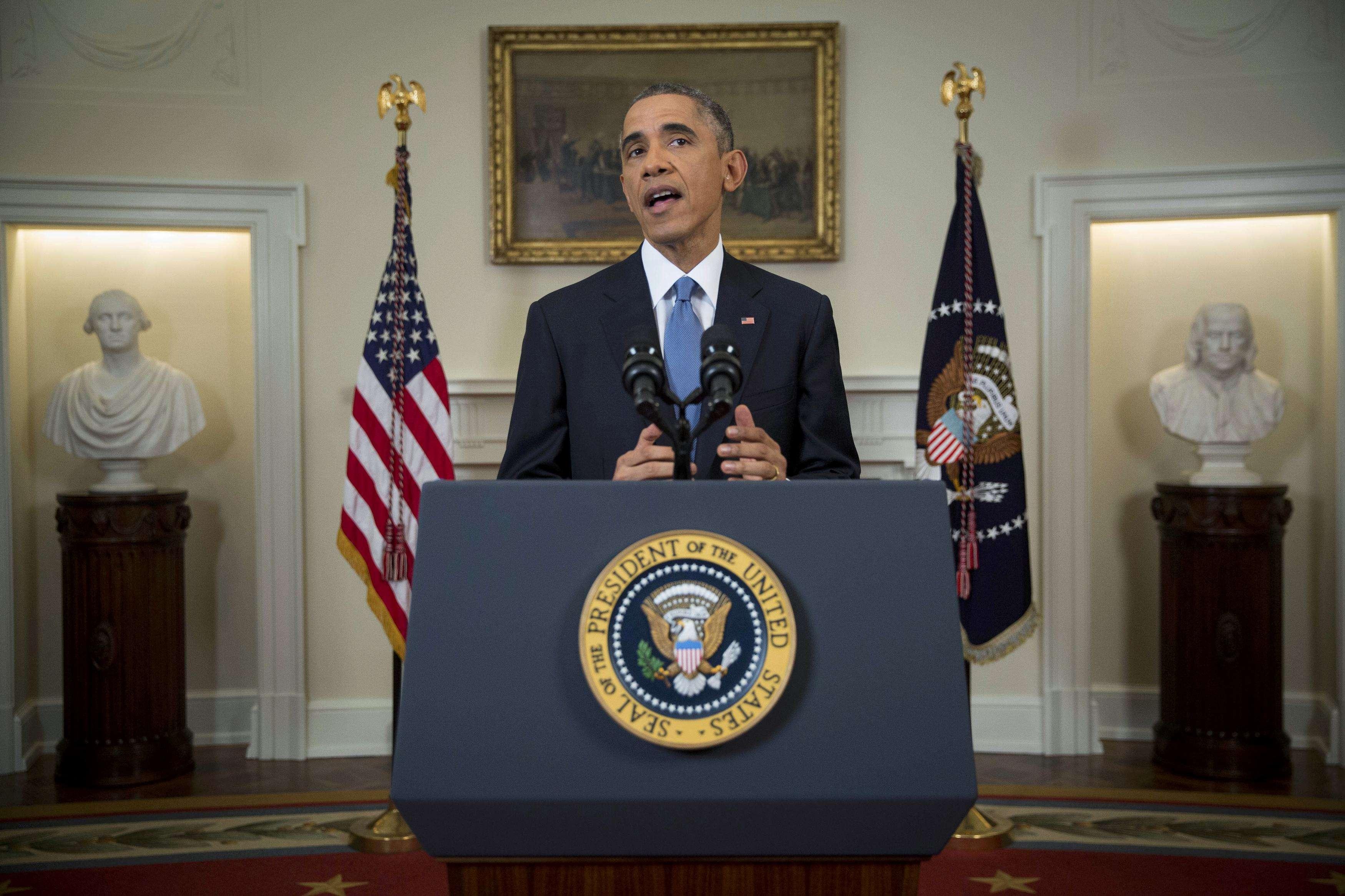 Obama habla sobre Cuba en un discurso a desde la Casa Blanca. Foto: Reuters en español