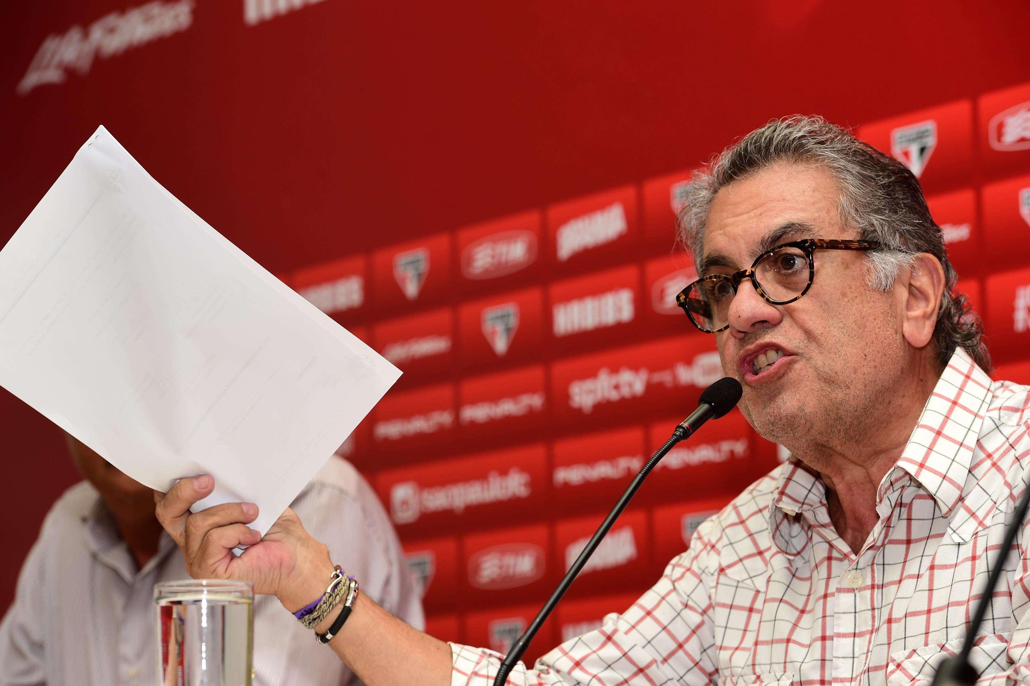 Presidente prestou esclarecimentos em relação a polêmicas recentes Foto: Djalma Vassão/Gazeta Press