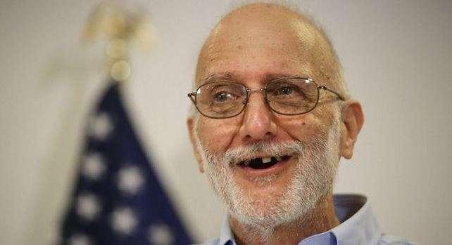Gross, de 65 años, fue arrestado en diciembre de 2009 cuando trabajaba en un programa financiado por Usaid, la Agencia de Desarrollo Internacional de Estados Unidos. Foto: Getty Images