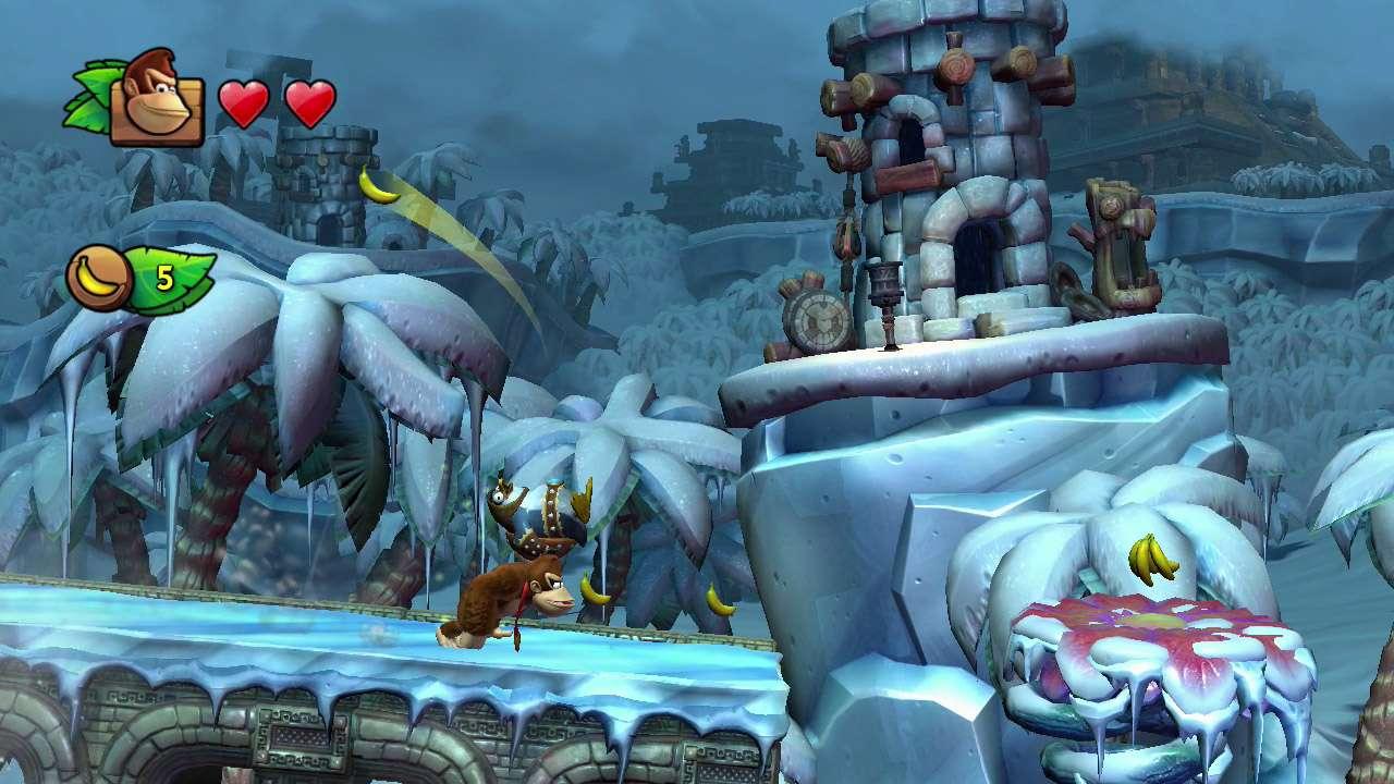 Donkey Kong Country Tropical Freeze se ha ganado el derecho a ser considerado el mejor juego de plataformas de este 2014. Foto: Nintendo