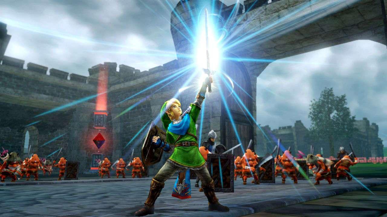 Nintendo le ha dado un buen chute de adrenalina a Link en Hyrule Warriors, un juego de Zelda diferente a lo que habías visto hasta ahora. Foto: Nintendo