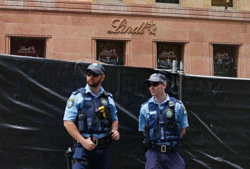 Café em Sydney (Austrália), onde clientes foram feitos reféns. 17/12/2014 Foto: Jason Reed/Reuters
