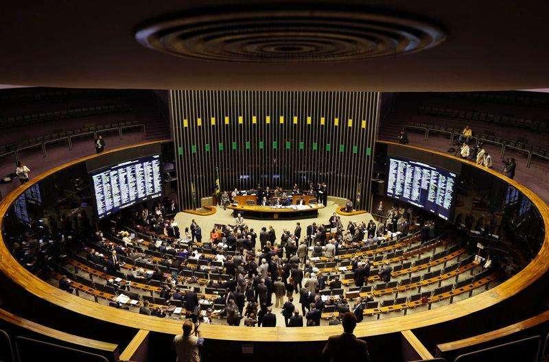 Vista-geral do plenário da Câmara dos Deputados, no Congresso Nacional, Brasília. 3/12/2014. Foto: Ueslei Marcelino/Reuters