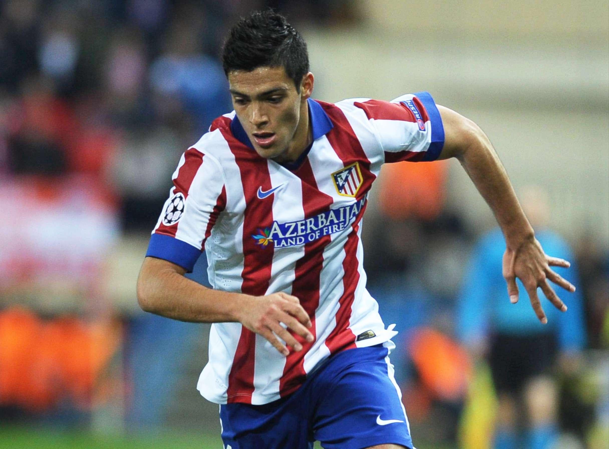 Raúl Jiménez regresará al cuadro titular del Atlético de Madrid. Foto: Mexsport