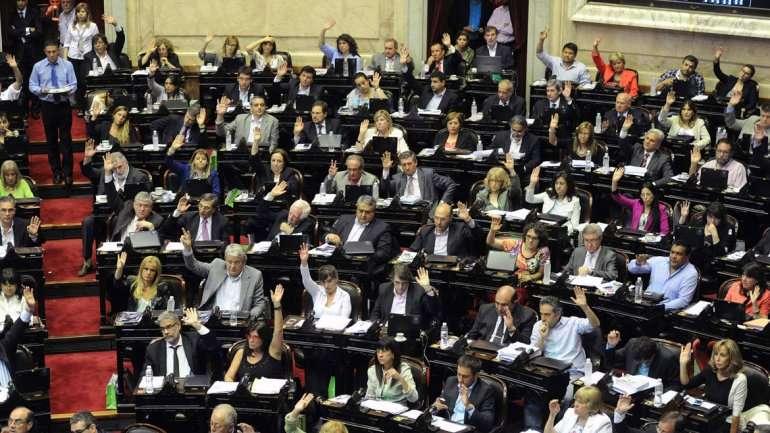 La votación en Diputados Foto: Noticias Argentinas