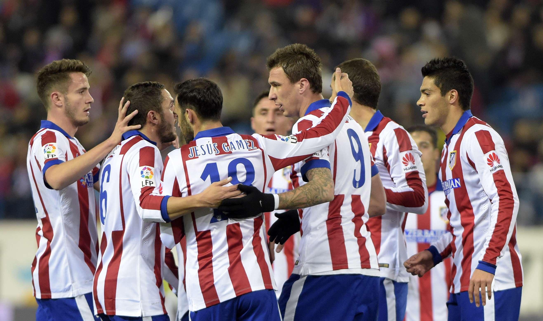 El Atlético empató y ya está en octavos. Foto: AFP