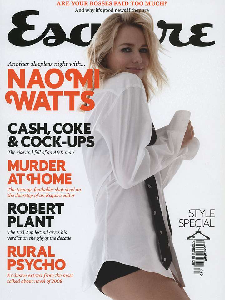 Naomi Watts. Foto: Esquire Magazine