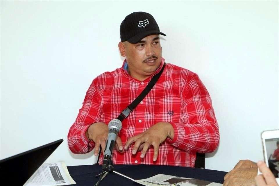 """El comandante de la Fuerza Rural, Luis Antonio Torres, """"El Americano"""", dijo que en la balacera de ayer, en la que murieron 11 personas, respondieron a una agresión de la Gendarmería. Foto: Reforma"""
