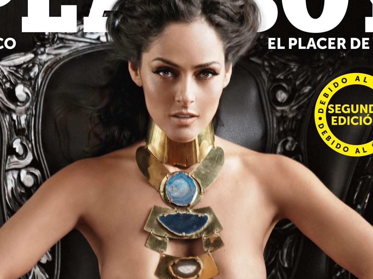 Andrea García - Portada Playboy. Foto: Playboy México