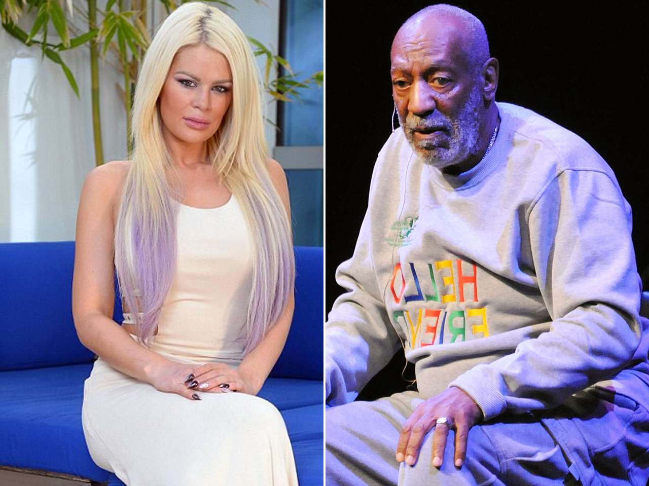 Chloe Goins / Bill Cosby. Foto: Daily Mail / Getty Images