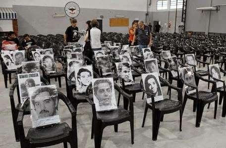 Los genocidas fueron condenados por crimenes de Lesa Humanidad. Foto: Gentileza juiciovesubio.blogspot.com