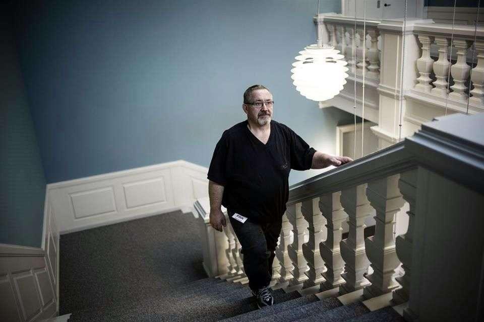 El danés Karsten Kaltoft recurrió a la Justicia tras ser despedido de su trabajo por su obesidad presuntamente Foto: AFP en español