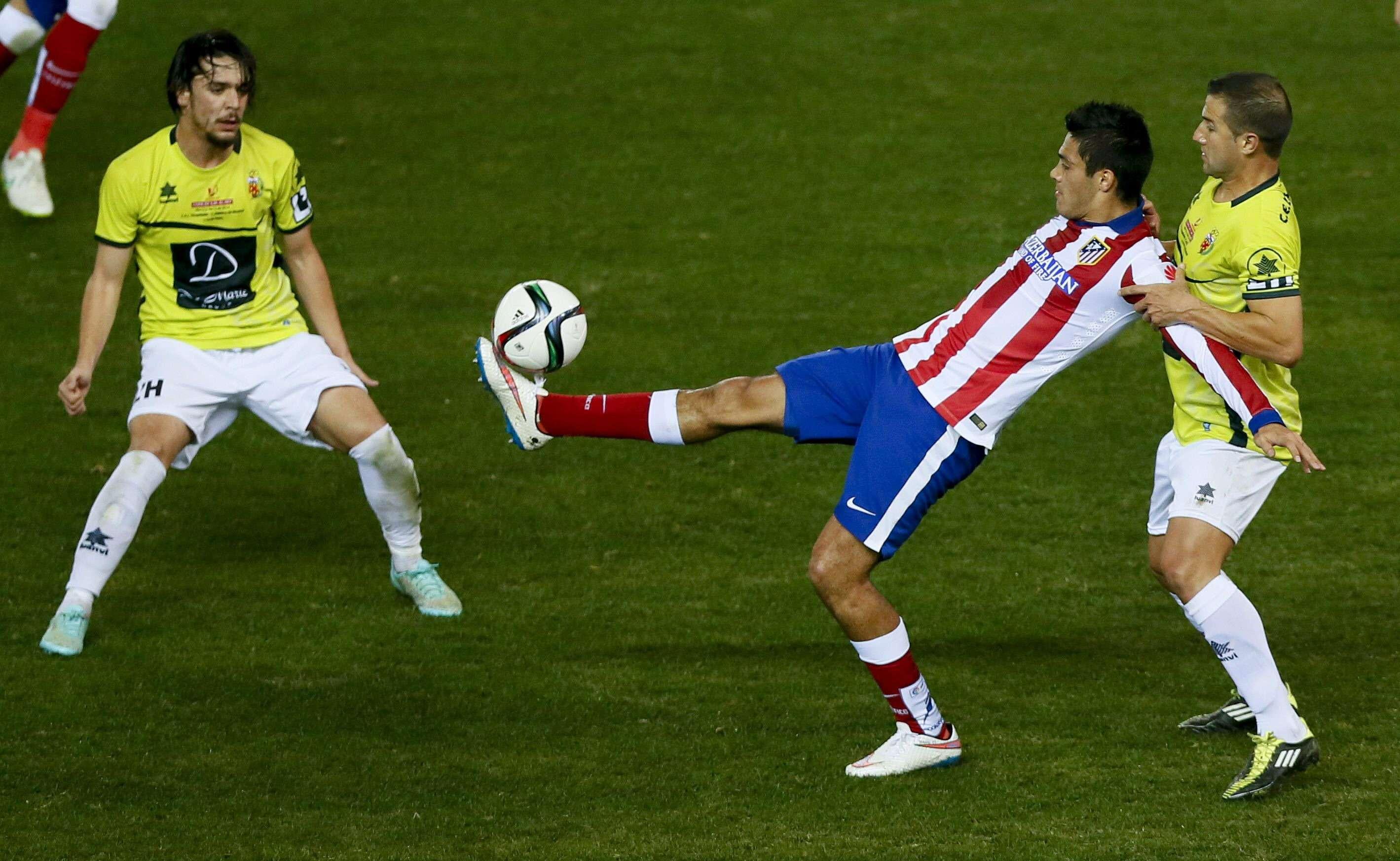 Raúl Jiménez se va en blanco en la Copa del Rey. Foto: EFE