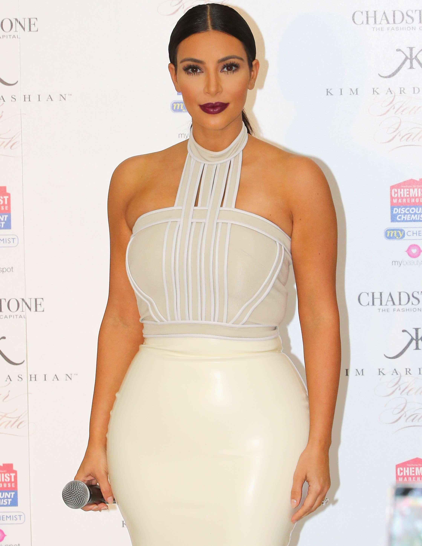 Kim Kardashian tiene su propio doble hecho casi a la medida. Foto: Getty Images
