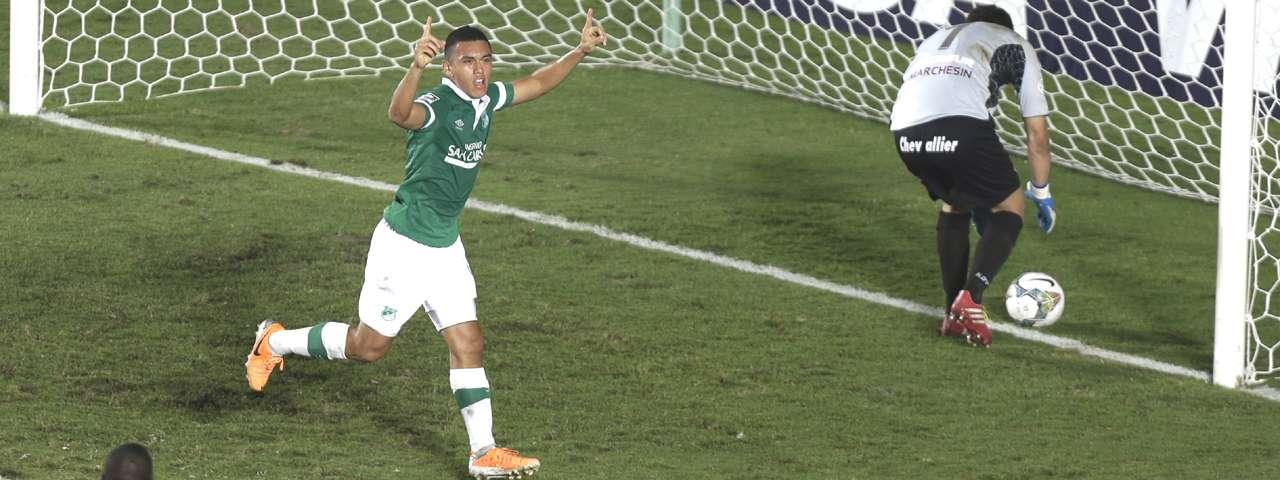 Carlos Lizarazo es nuevo celeste. Foto: AP