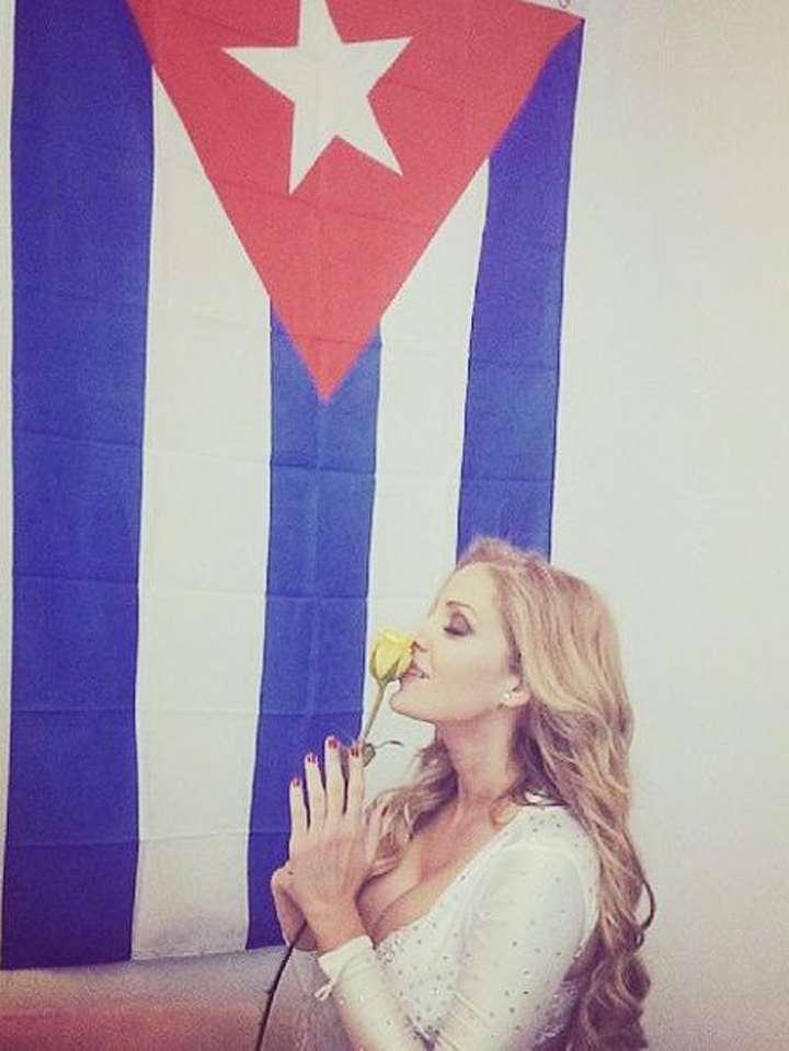 Malillany Marín es una de la tantas celebridades de origen cubano. Foto: Twitter/@malillanymarin