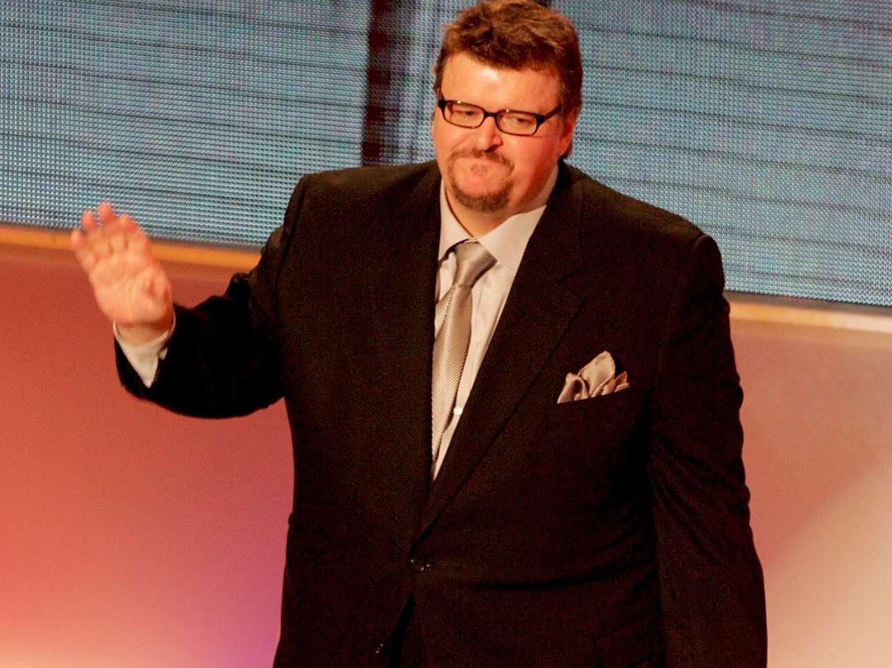 Michael Moore dejó caer todo el sarcasmo en su cuenta de Twitter. Foto: Getty Images