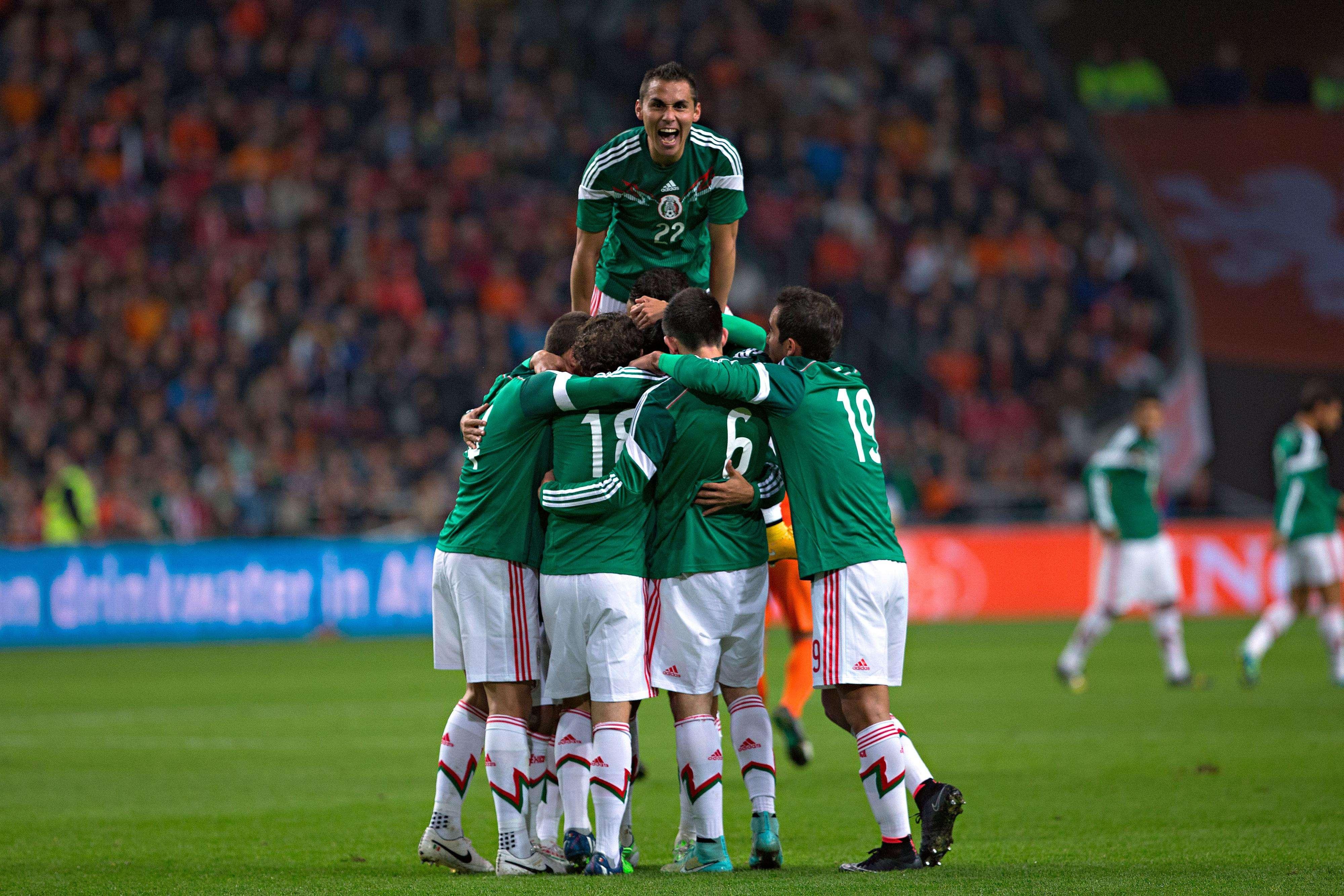México es el sitio 20 del ranking FIFA. Foto: Imago7