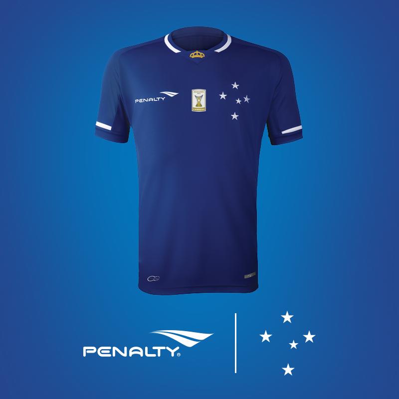 Novo uniforme do Cruzeiro para a temporada 2015 Foto: Reprodução