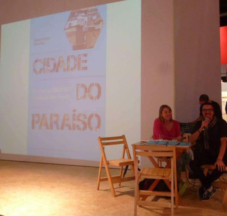Wagner de Alencar fez seu TCC em conjunto com a colega Bruna Belazi. Eles escreveram um livro-reportagem, Cidade do Paraíso Foto: Arquivo pessoal
