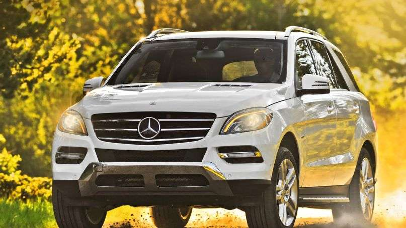 Mercedes-Benz ML400 4MATIC 2015 Foto: Mercedes-Benz