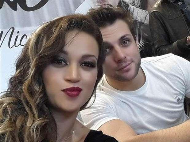 """Angie Arizaga y Nicola Porcella de """"Esto es Guerra"""". Foto: Twitter"""