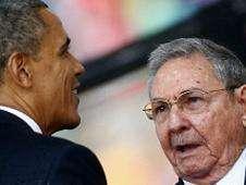 Obama y Castro Foto: BBC Mundo/Copyright