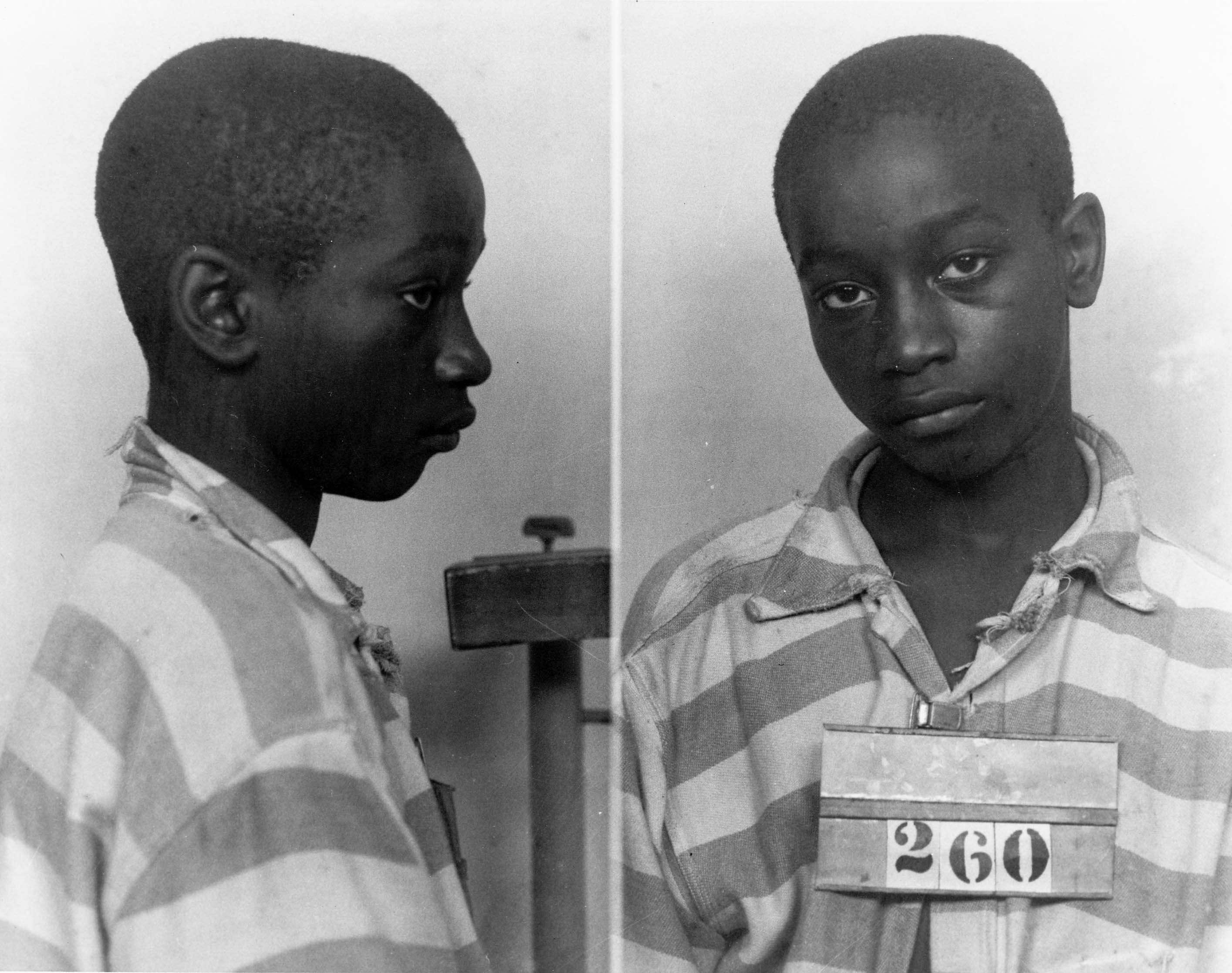 George Stinney tinha 14 anos e pesava apenas 43 quilos quando foi executado pelo assassinato de duas meninas Foto: Departamento de Arquivos e História da Carolina do Sul /Reuters
