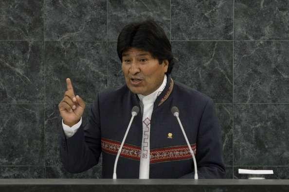 El presidente boliviano sugirió que el narcotráfico ha superado la capacidad del Estado mexicano. Foto: Getty Images