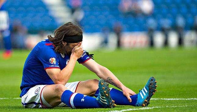 Pavone tampoco pudo ser Campeón de Liga con Cruz Azul. Foto: Mexsport