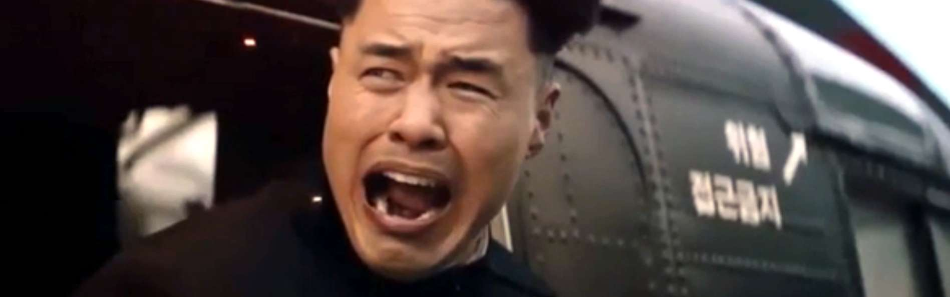 La muerte de Kim Jong-Un en 'The Interview'. Foto: Columbia Pictures