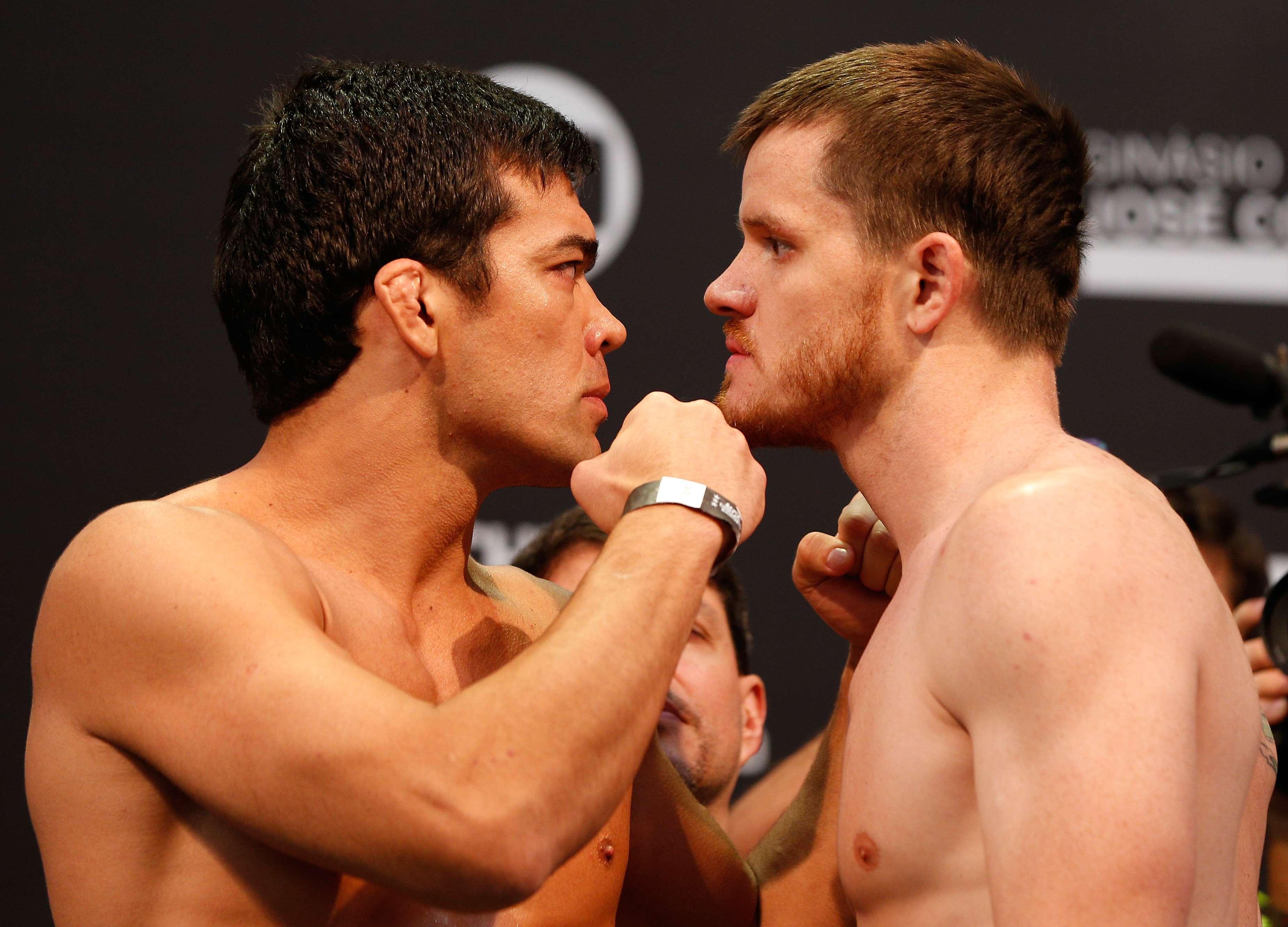 Lyoto Machida e CB Dollaway são protagonistas do 2º UFC Barueri Foto:  Josh Hedges/ Zuffa LLC/Getty Images