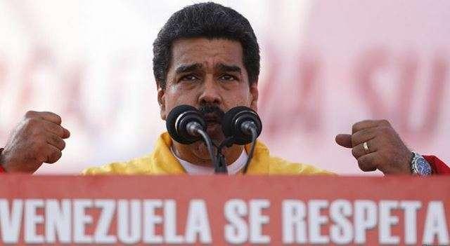 """Maduro se refirió a EE.UU. como """"un imperio que pretende imponer su dominación por cualquier vía"""". Foto: Reuters en español"""