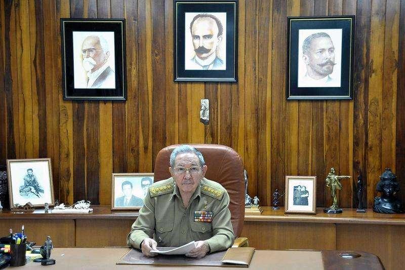 Presidente cubano Raúl Castro faz declaração televisionada. 16/12/2014. Foto: Estudios Revolucion/Reuters